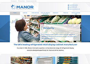 Manor Refrigerated Cabinets