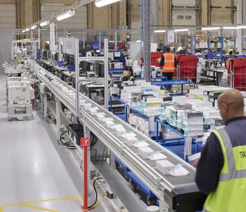 Axiom GB - Kuehne + Nagel's facility